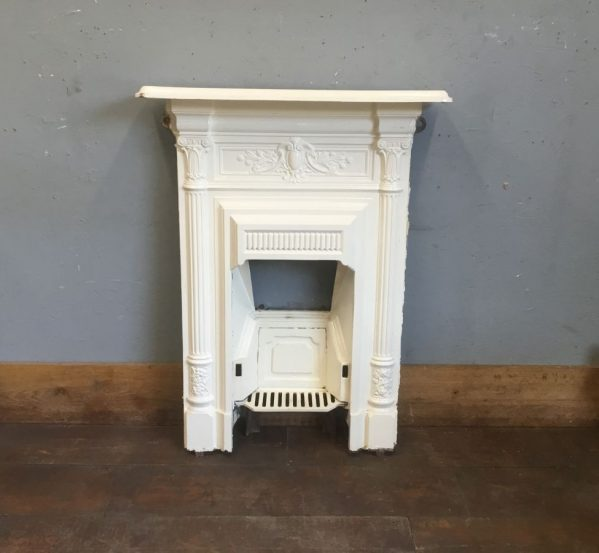Cream Painted Fireplace