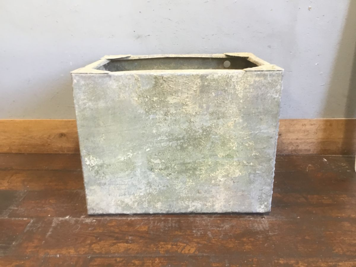 Rectangular Galvanised Tin Trough