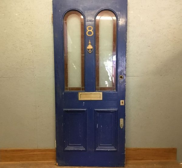 Blue Front Door No.8