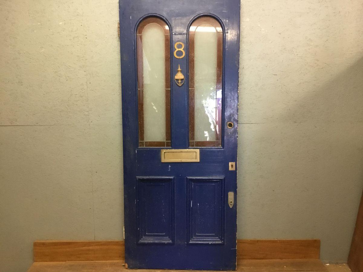 Blue Front Door No.8