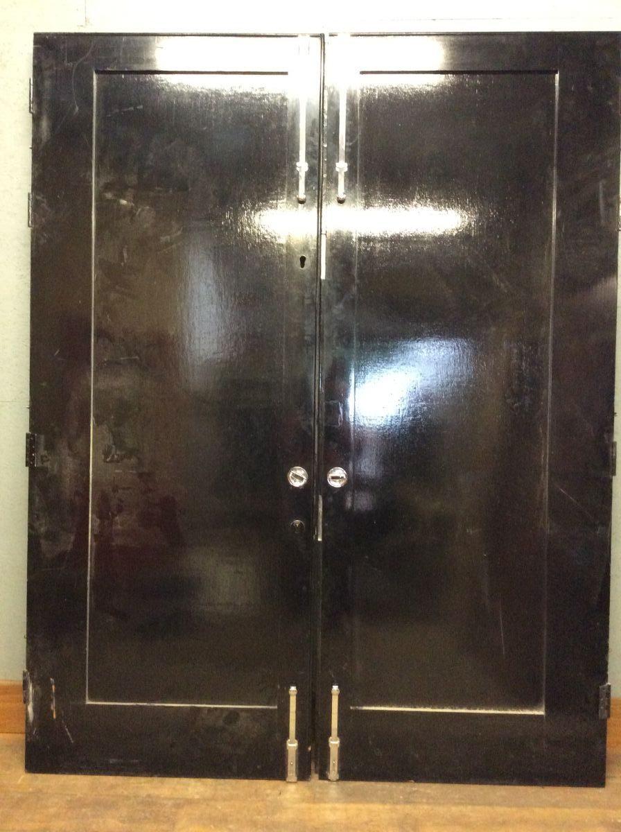 Super Heavy Black Doors