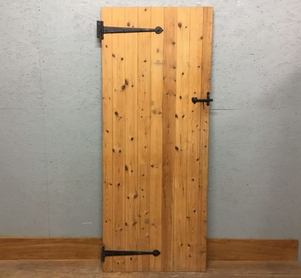 Nice Smooth Pine Ledge & Brace Door