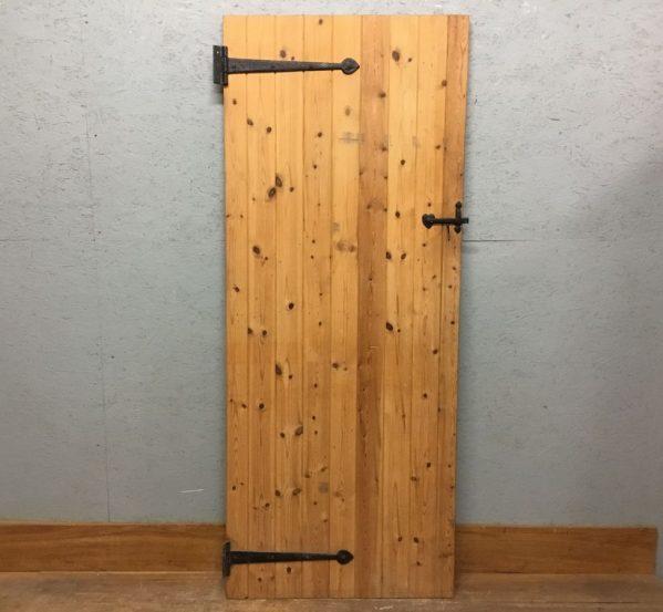 Nice Smooth Pine Ledge & Brace Door