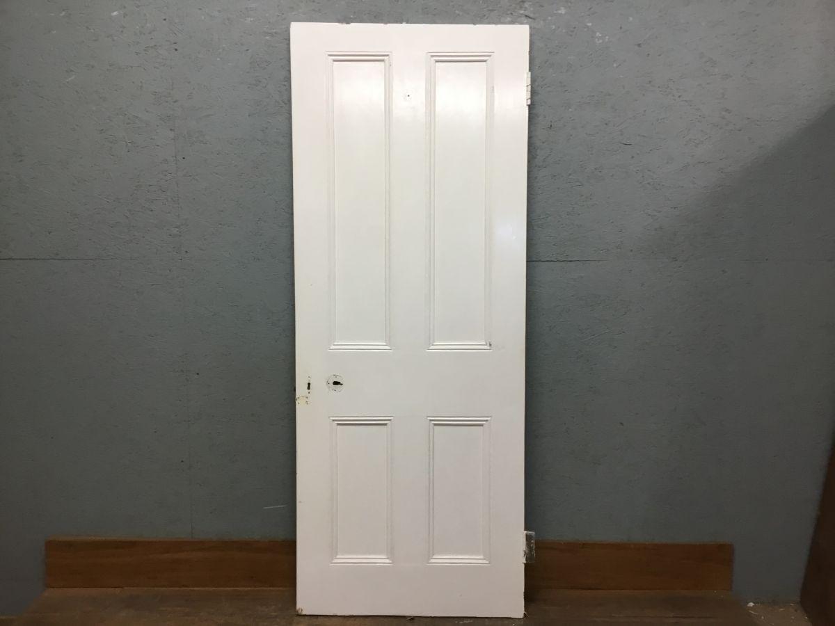 White 4 Panelled Door Nice