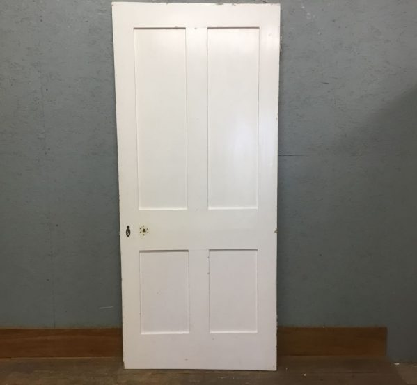 Painted 4 Panelled Door