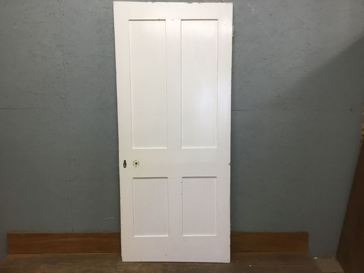 Painted 4 Panelled Door