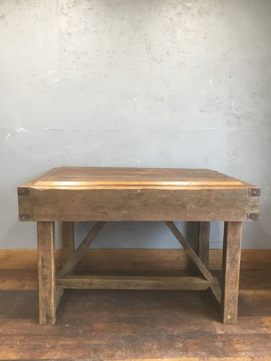 Up-cycled Oak Butchers Block