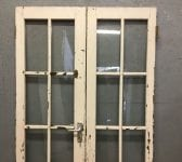 Oak Glazed Double Doors