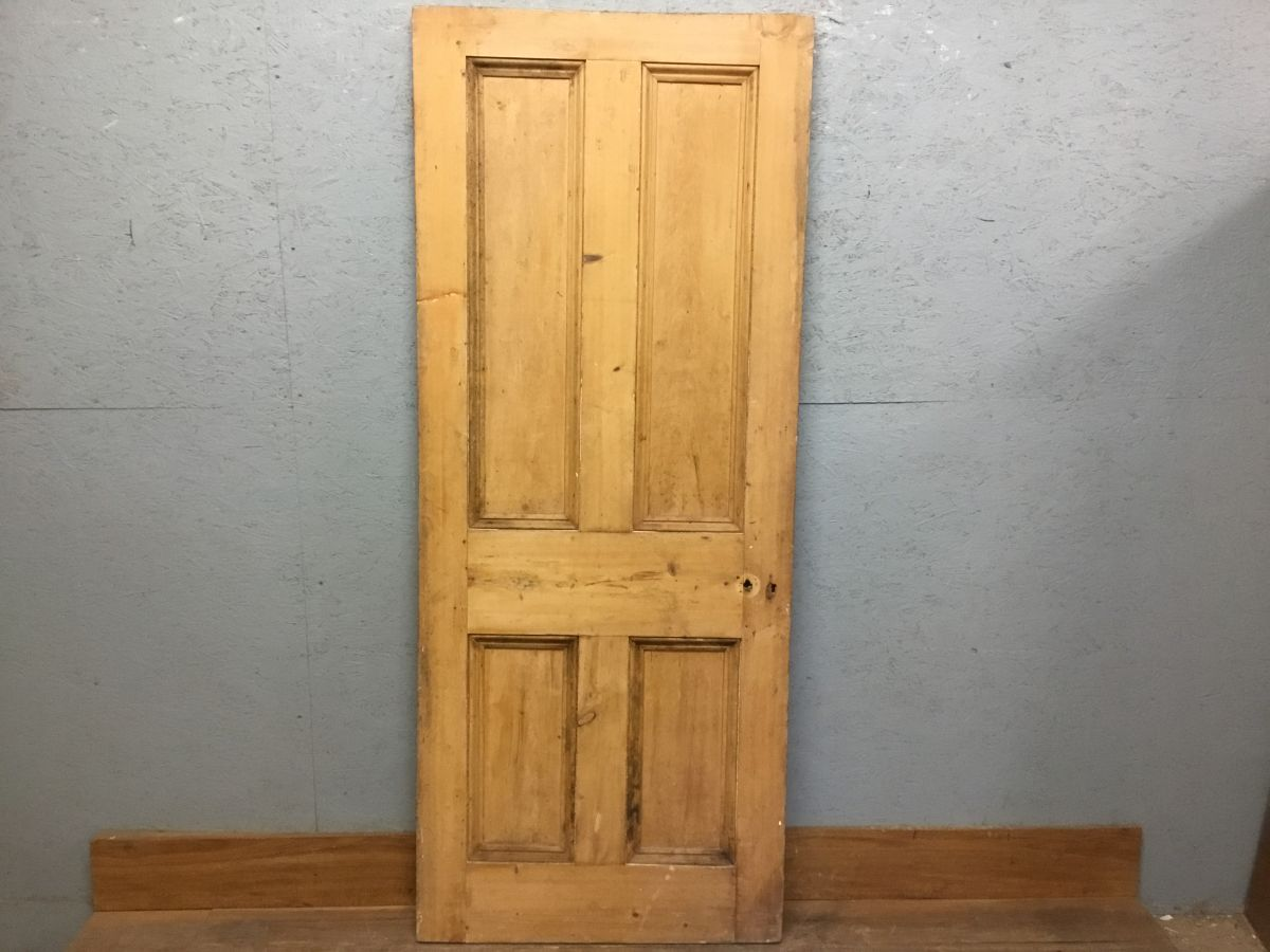 Top Notch Stripped Door