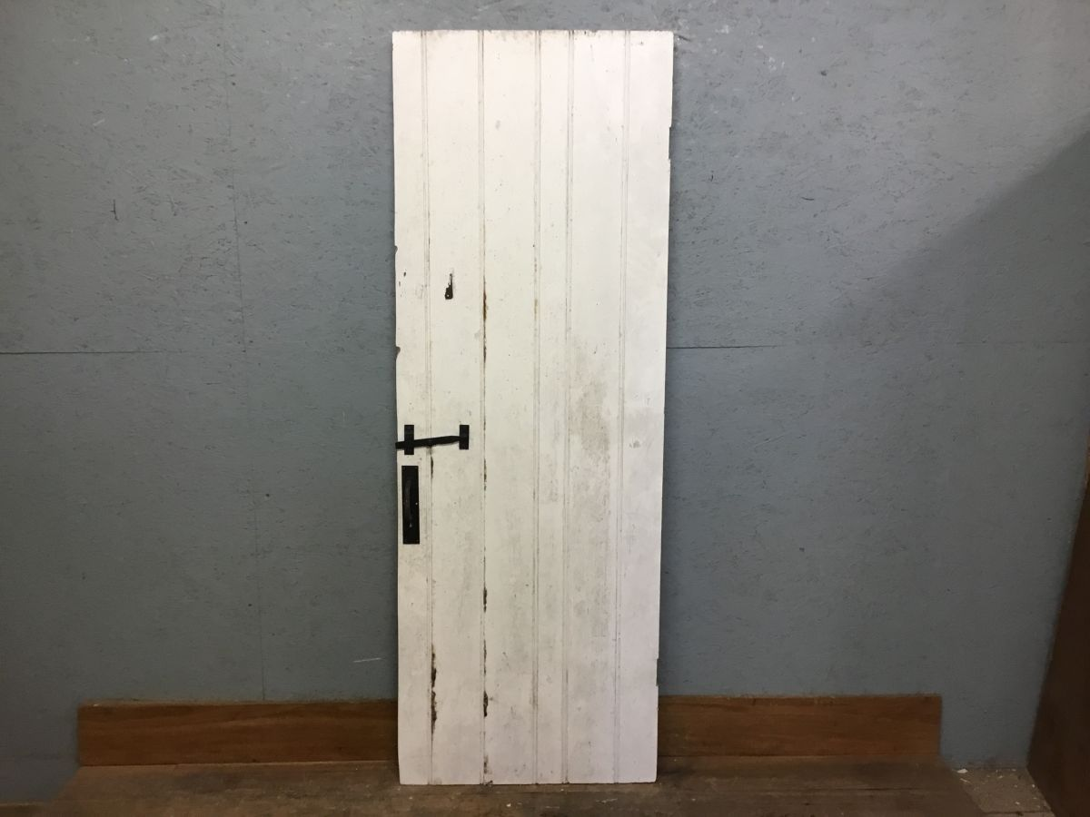 Retro White L&B Door