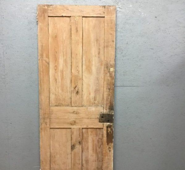 Old Stipped 4 Panel Door