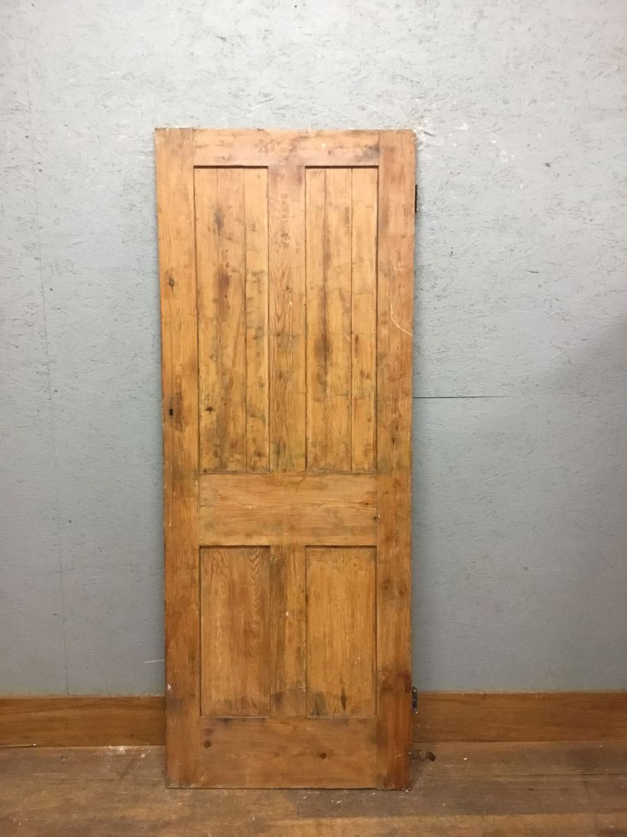 Stripped 4 Panell Door (TOP)