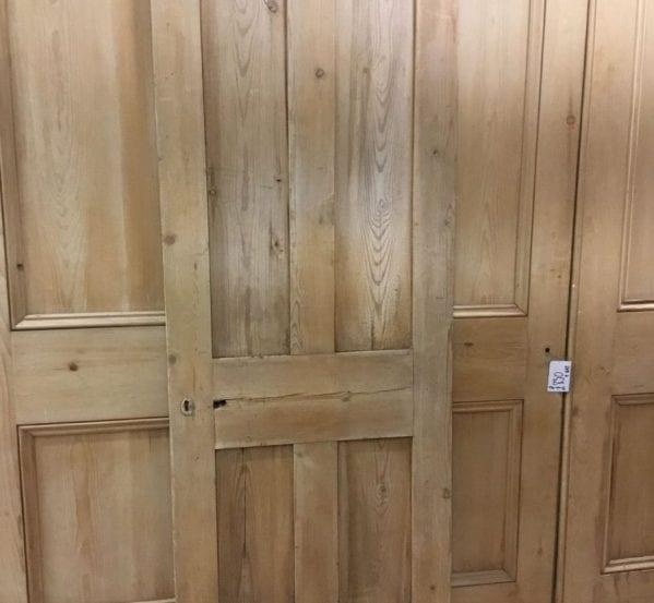 Plush Stripped 4 Panelled Door