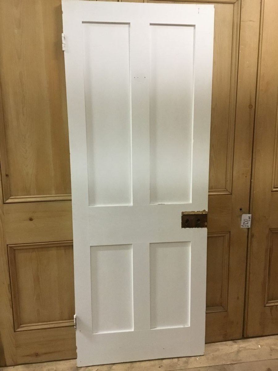 White 4 Panel Door Smooth