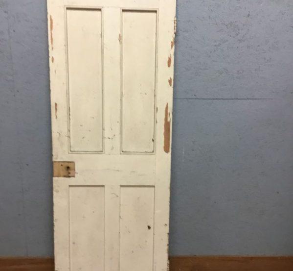 Old Painted 4 Panel Door