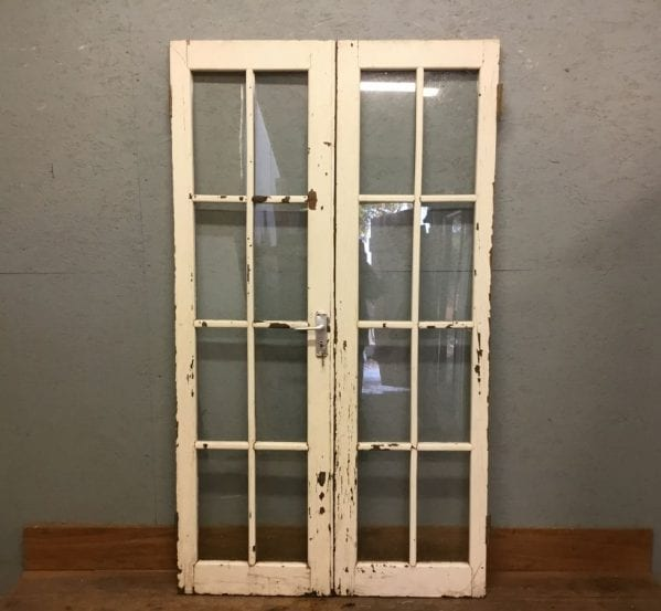 Oak Glazed Double Doors