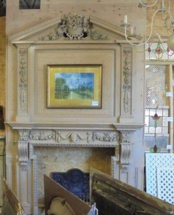 Reclaimed Fireplaces, Surrounds & Firebacks