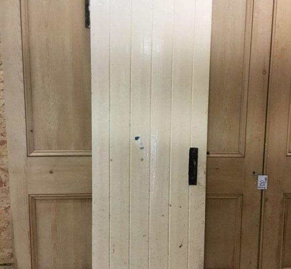 Nice White Ledge & Brace Door