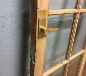 Quality Fully Glazed Pine Door