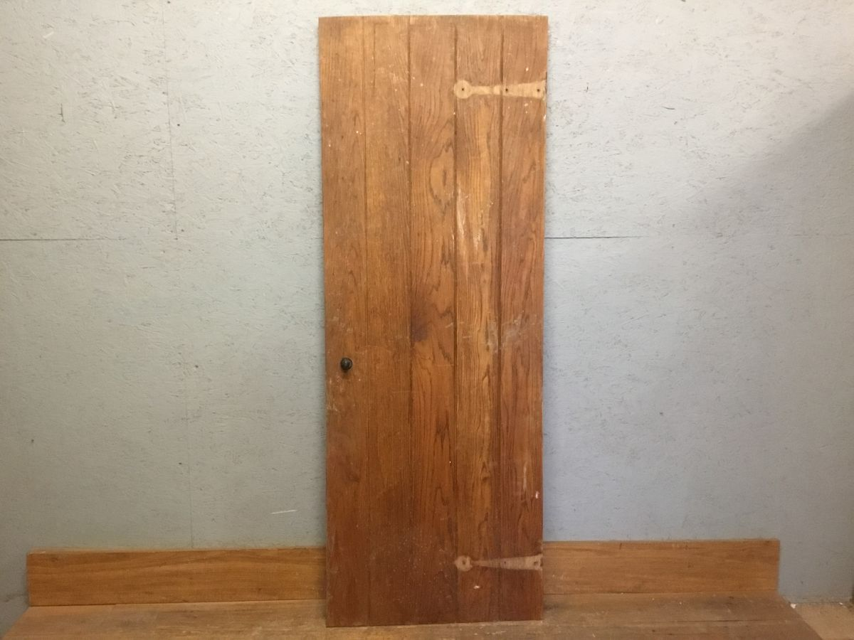 Oak Small Ledge & Brace Door