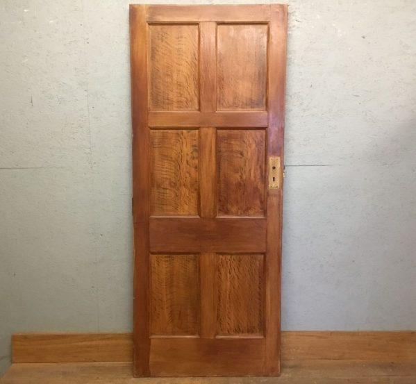 V Nice Oak 6 Panel Door