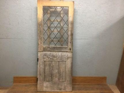 Half Glazed Oak Stable Door - Reclaimed Doors