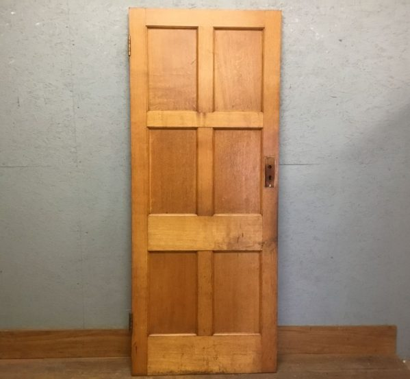 Lighter Finish Oak 6 Panel Door