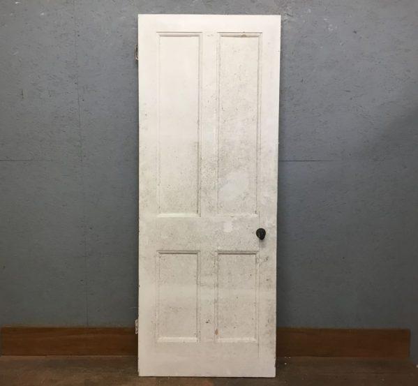 4 Panel Door Painted White