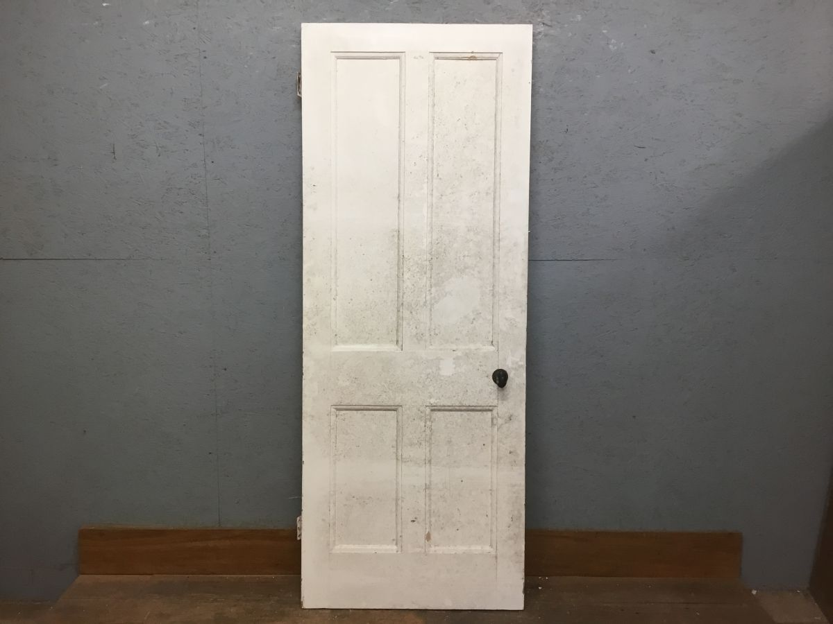 4 Panel Door Painted White