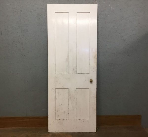 4 Panell White Door