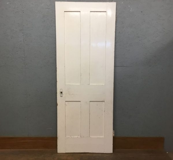 Super White 4 Panelled Door