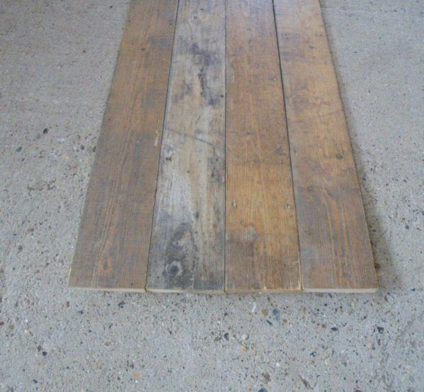 "Reclaimed 5 3/4"" Pine Floorboards"