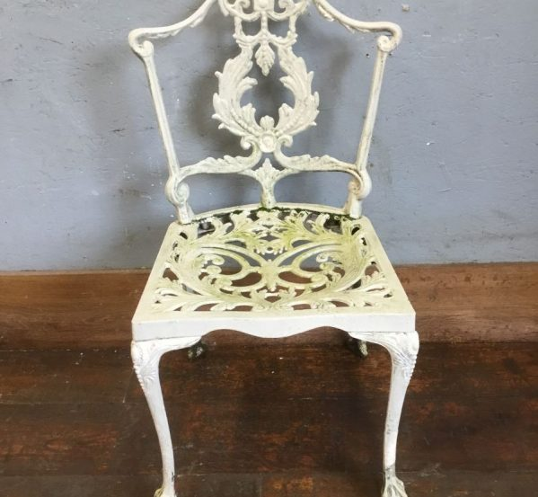 Reclaimed Painted Garden Chairs