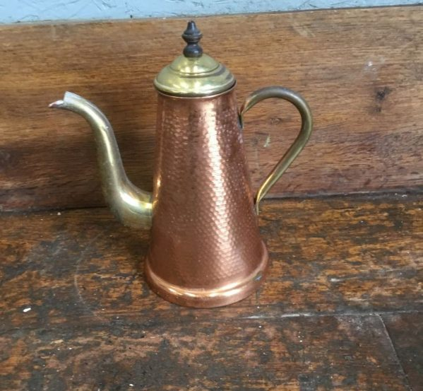 Brass & Copper Coffee Pot