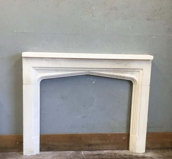 Simple Detail Stone Fire Surround