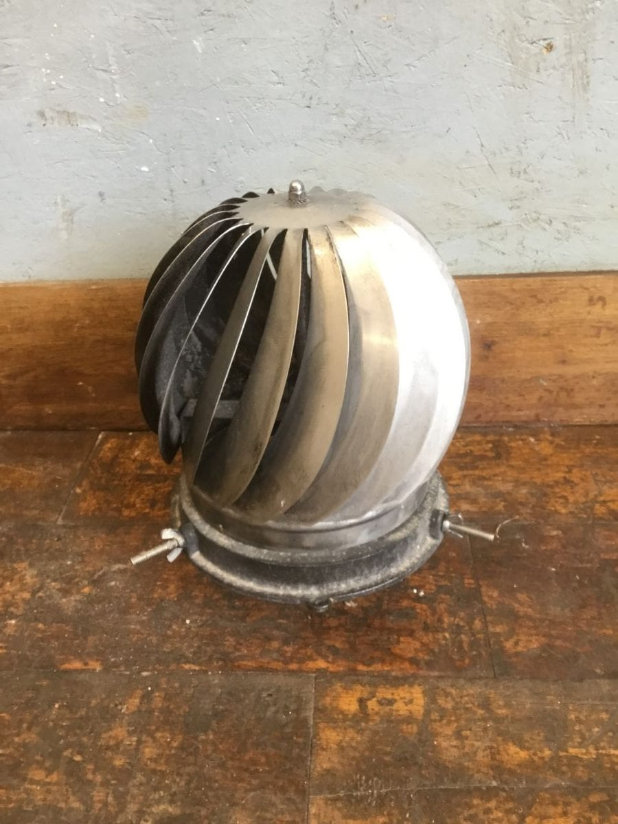 Spinning Metal Chimney Cowl