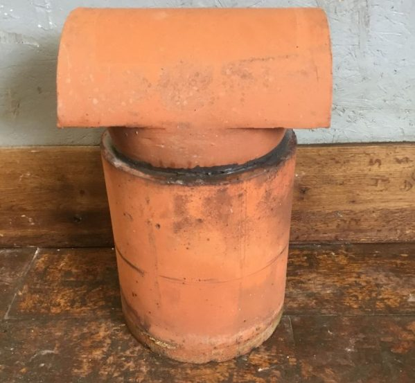 Chimney Pot With Hooded Cowl