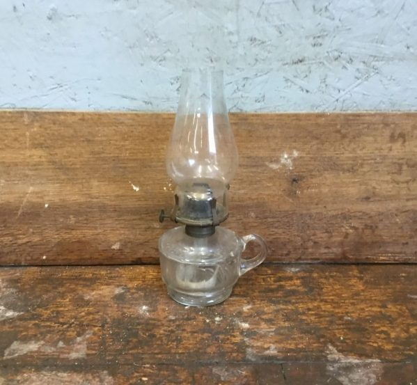 Reclaimed Small Oil Lamp