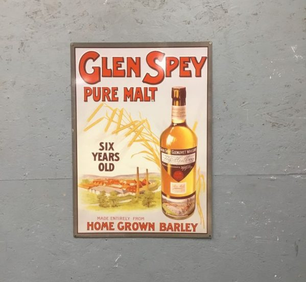 Glen Spey Whisky Sign