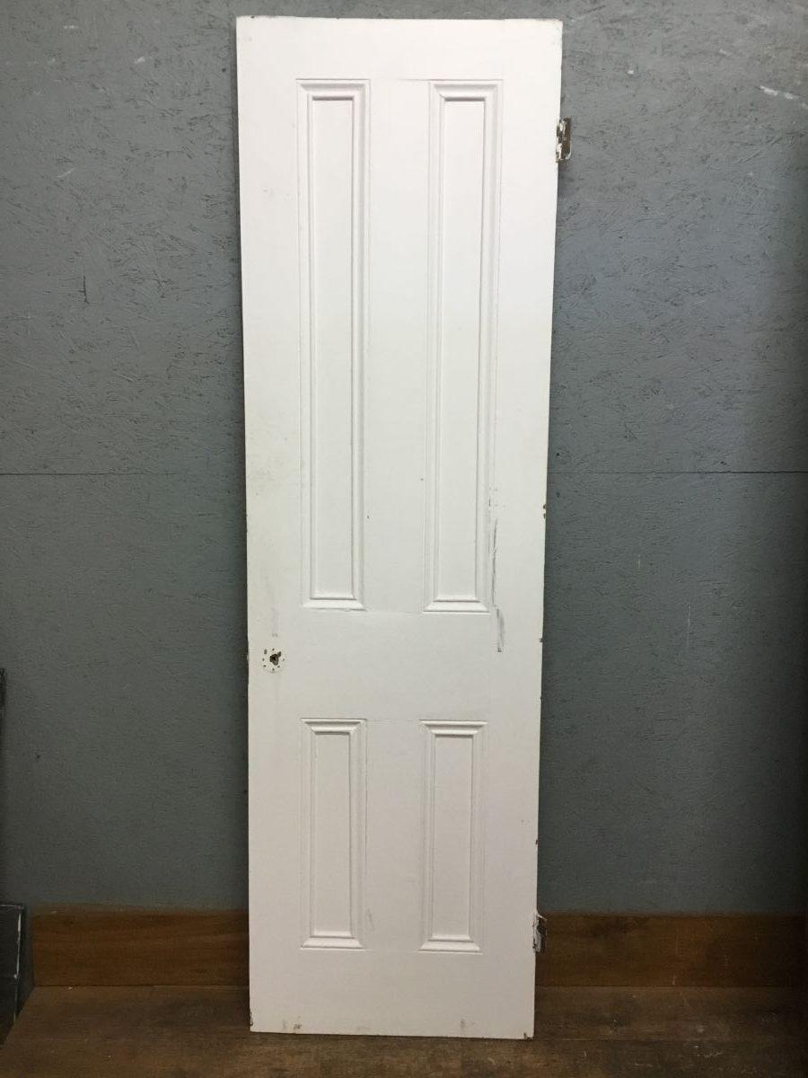 Narrow Painted 4 Panel Door