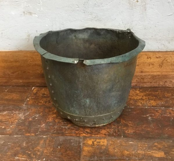 Reclaimed Copper Bucket