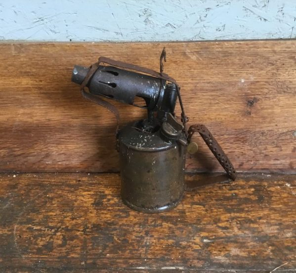 Reclaimed Handheld Flame Torch