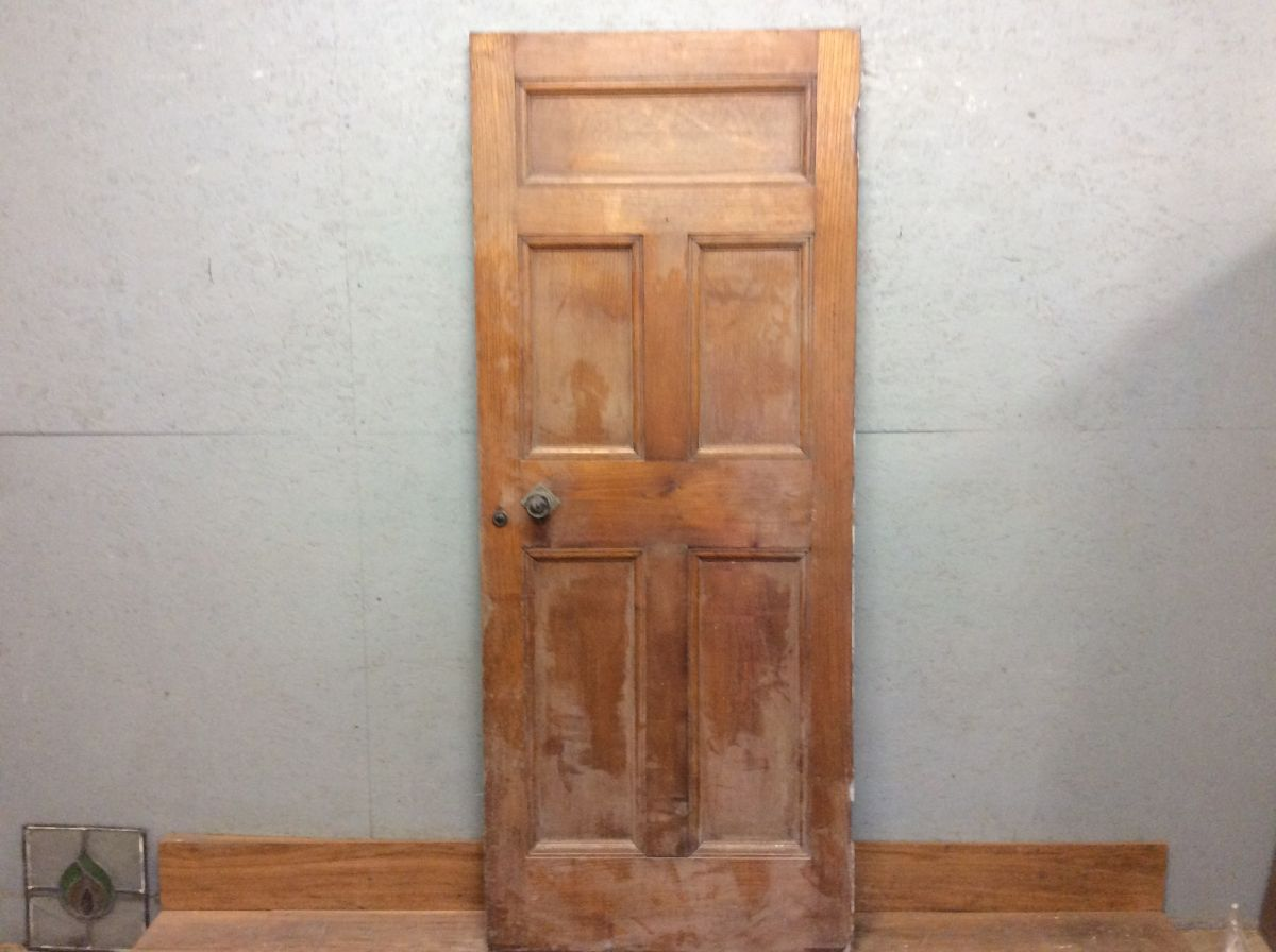 Antique Oak 5 Panel Door