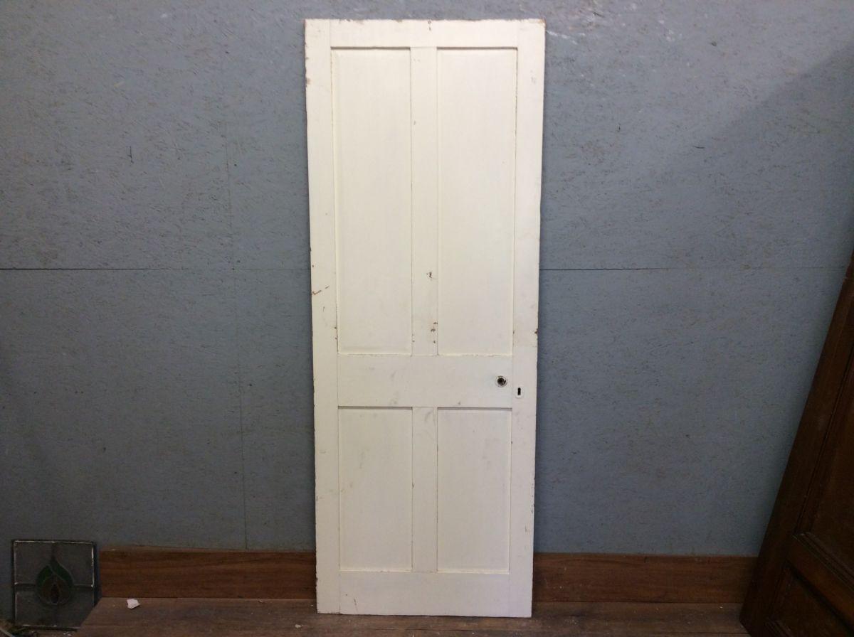 Half Painted 4 Panel Door