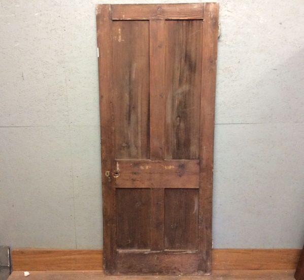 Dark 4 Panel Door