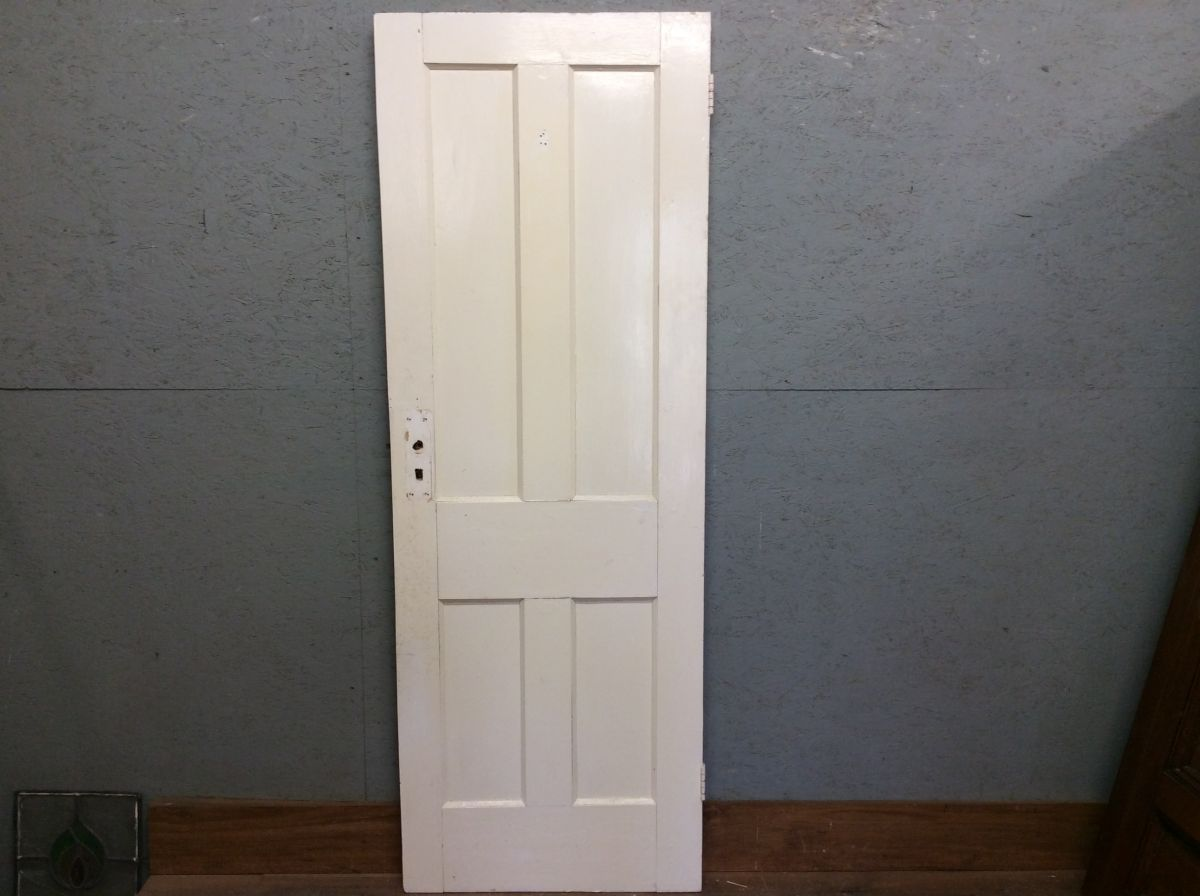 White Fresh 4 Panelled Door