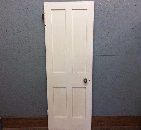 4 Panel Door White Painted