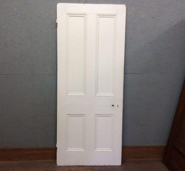 Fresh White 4 Panelled Door