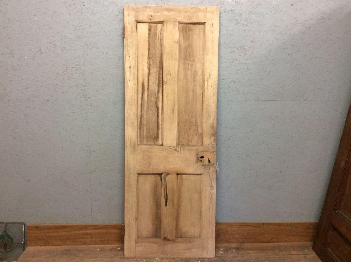 4 Panel Pine Door Stripped