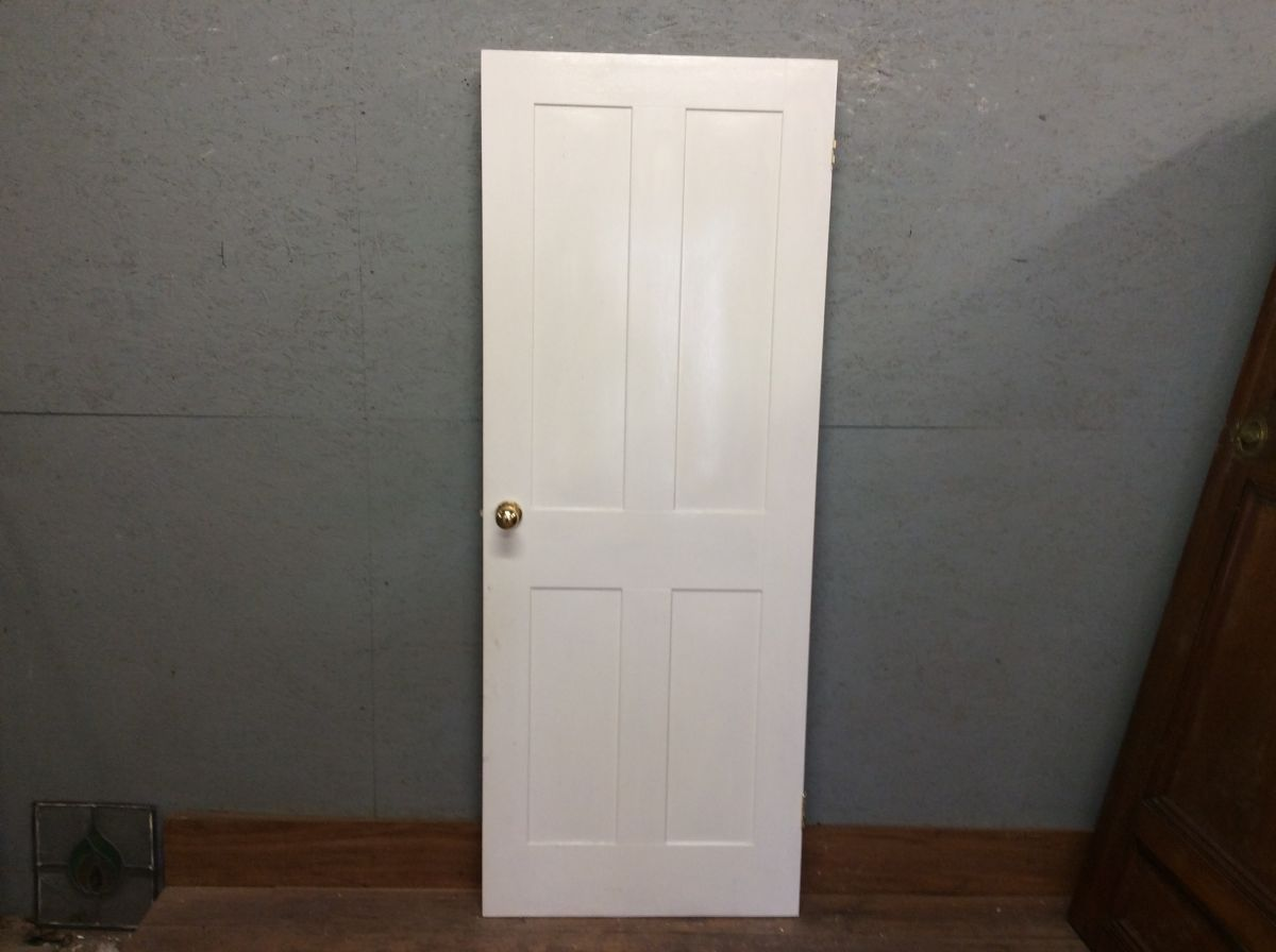 Light White 4 Panel Door